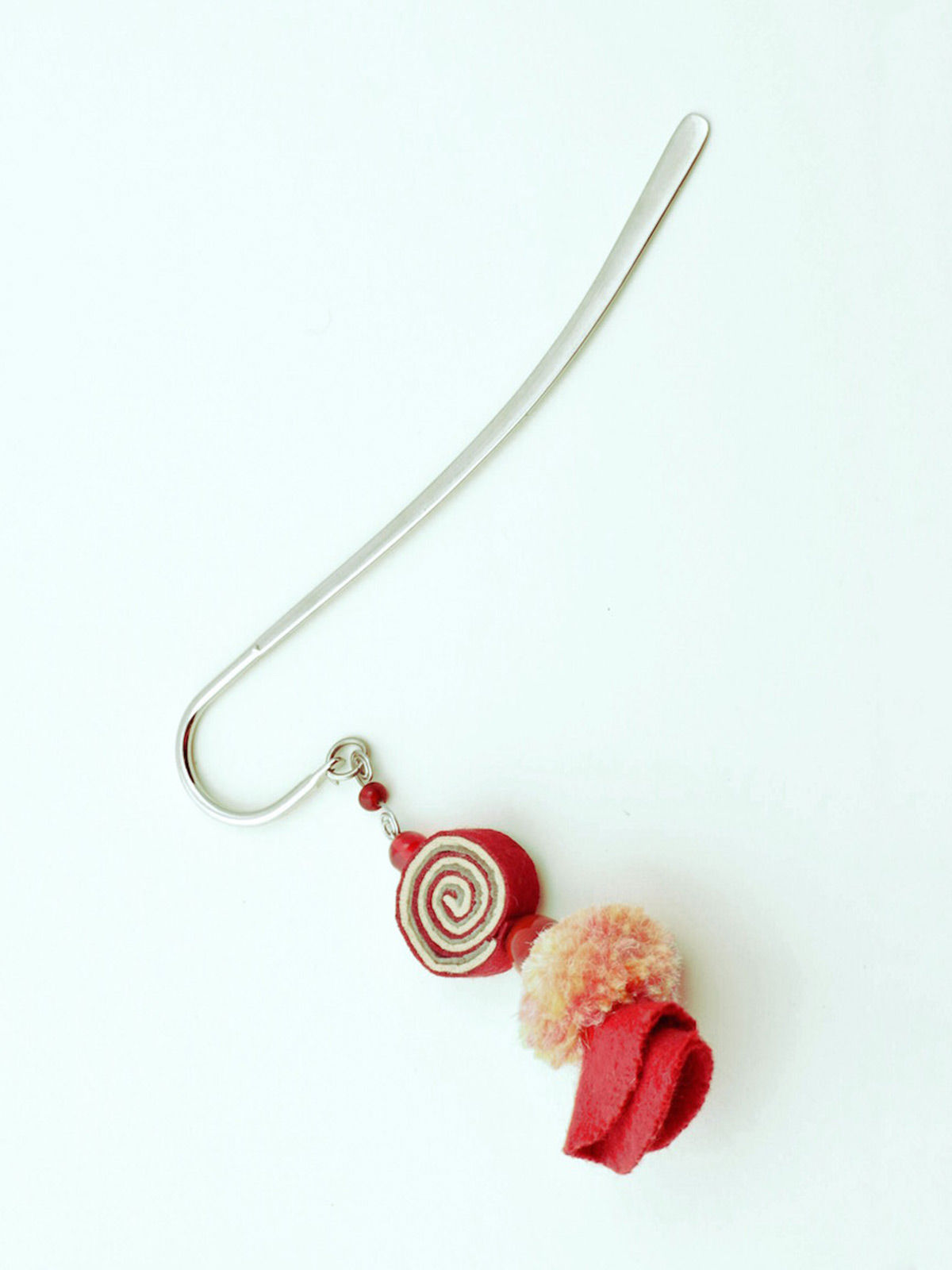 Psychedelic Doll Bookmark - Red