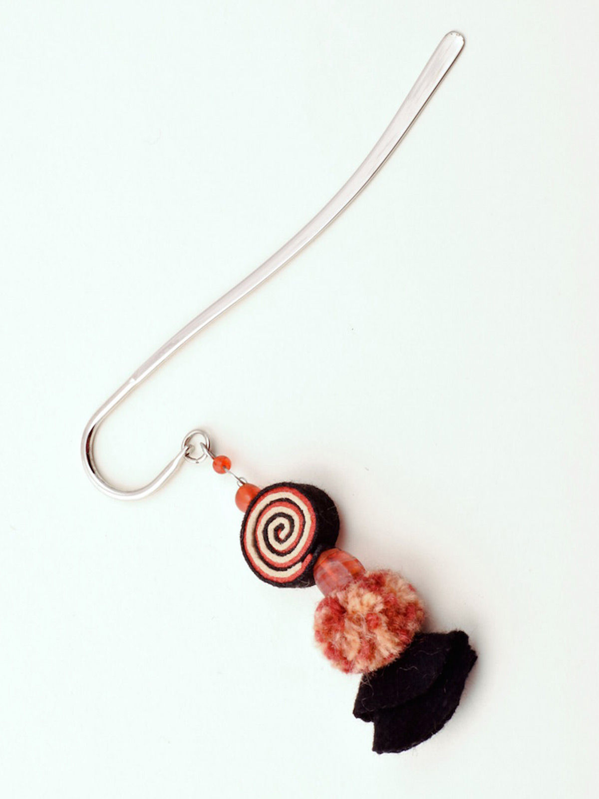 Psychedelic Doll Bookmark - Orange