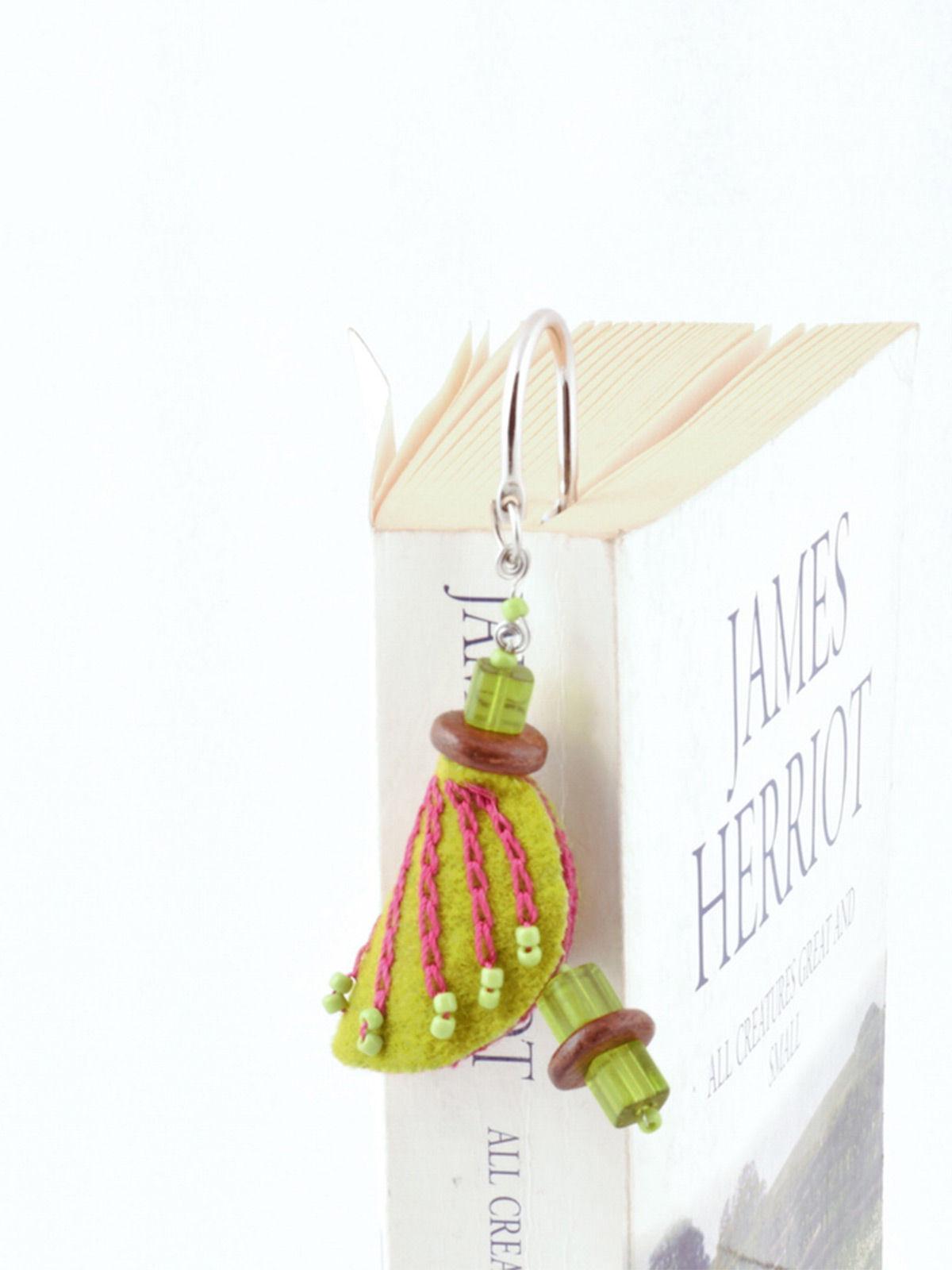 Chrysalis Bookmark - Green
