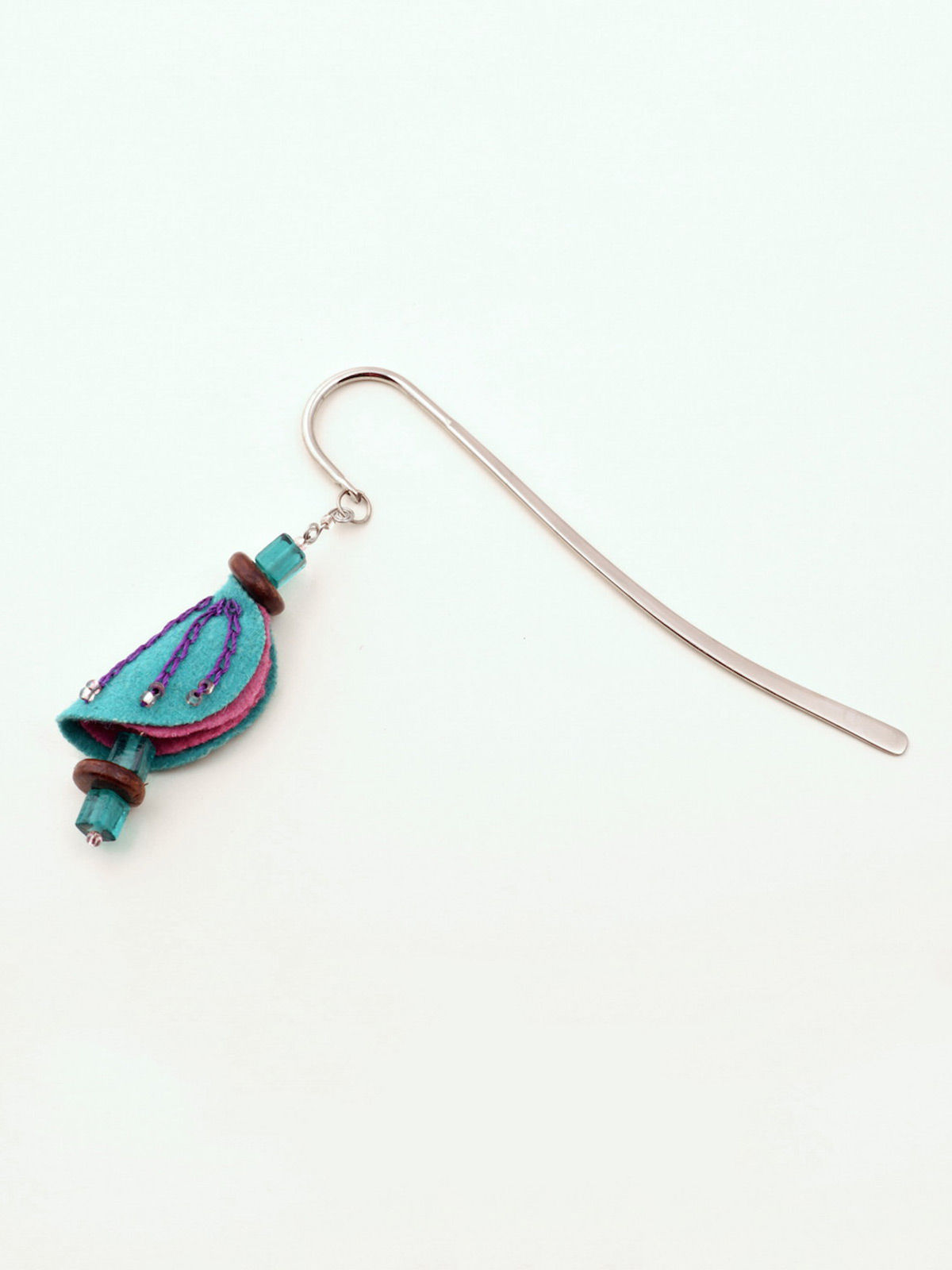 Chrysalis Bookmark - Teal