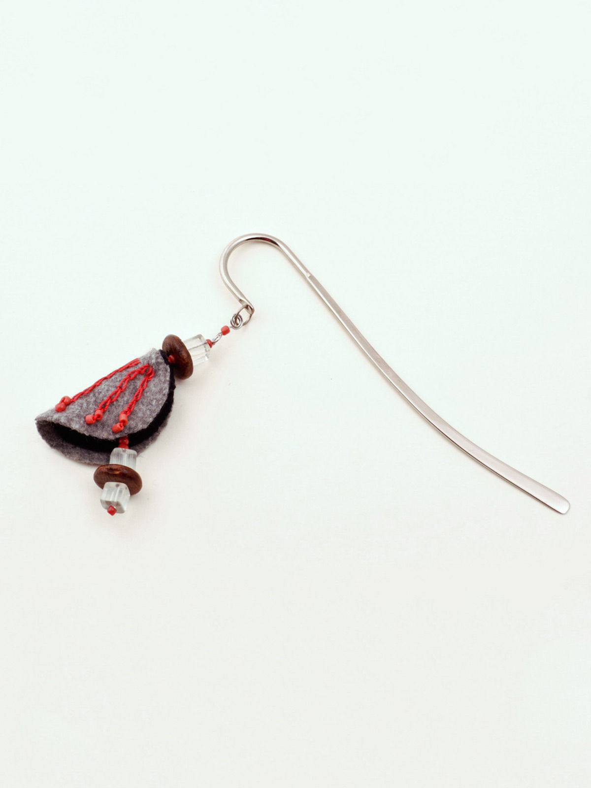 Chrysalis Bookmark - Clear