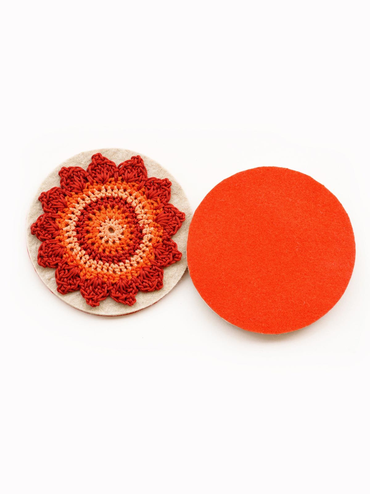 Pinwheel Coaster Red