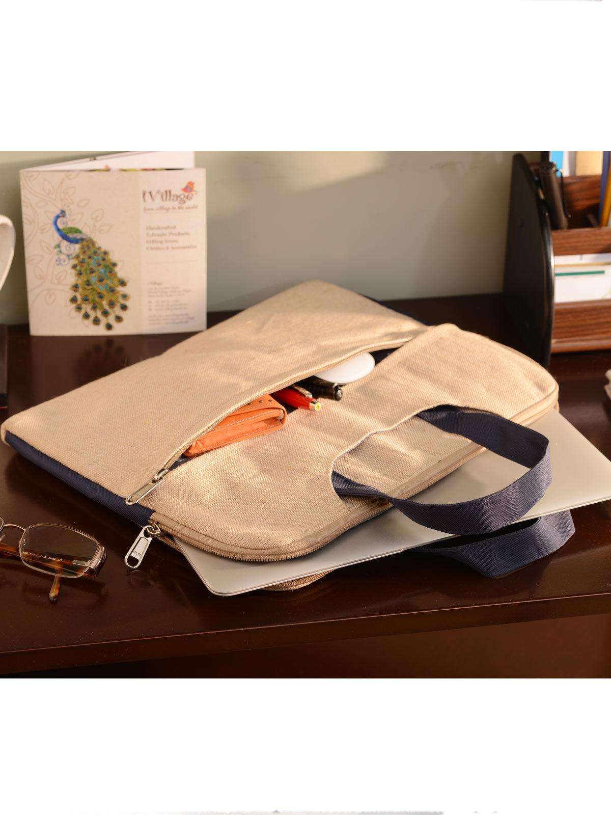 Handmade Jute Laptop Sleeve For Laptop