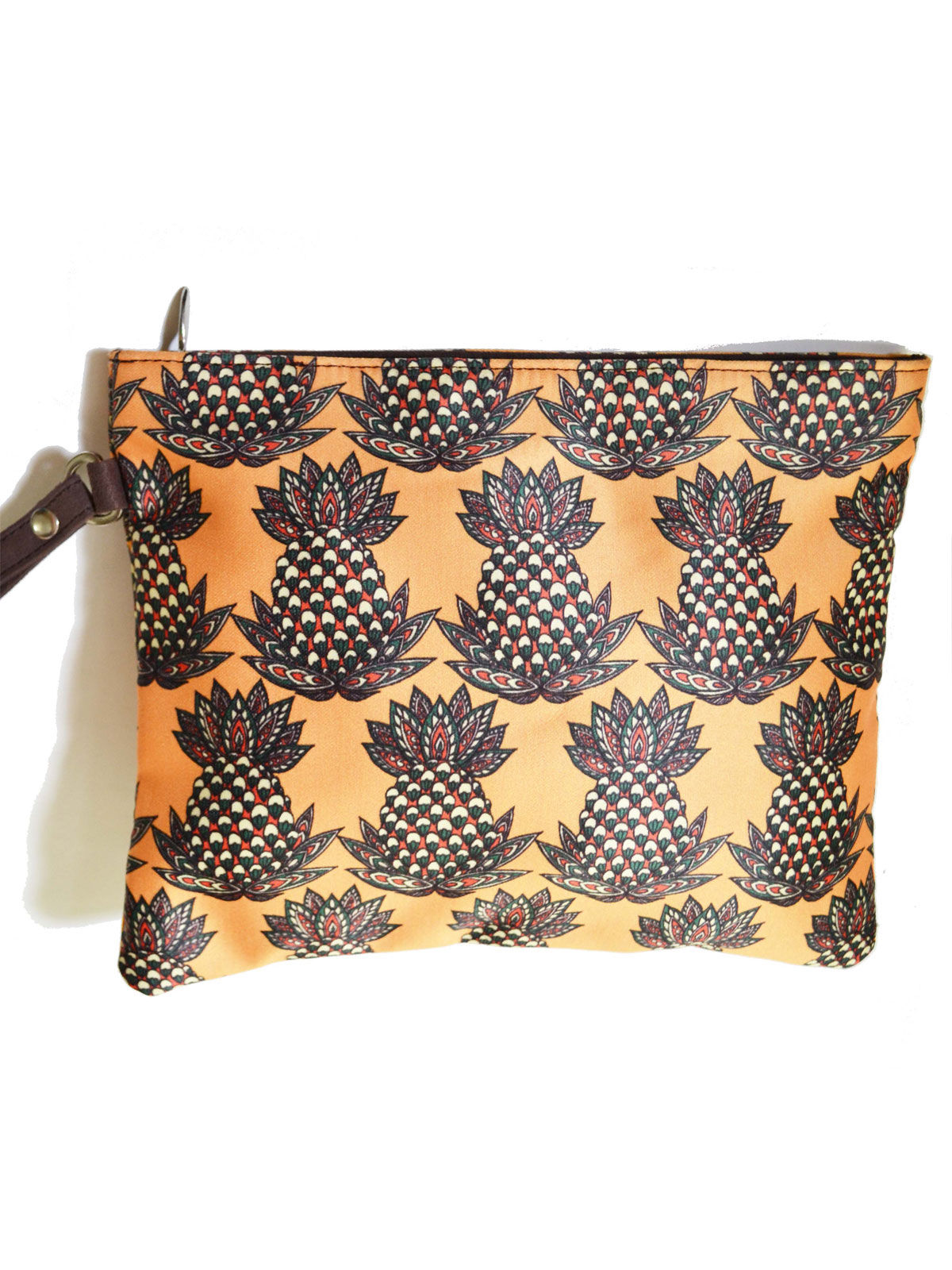 Printed Pouch pinapple 1