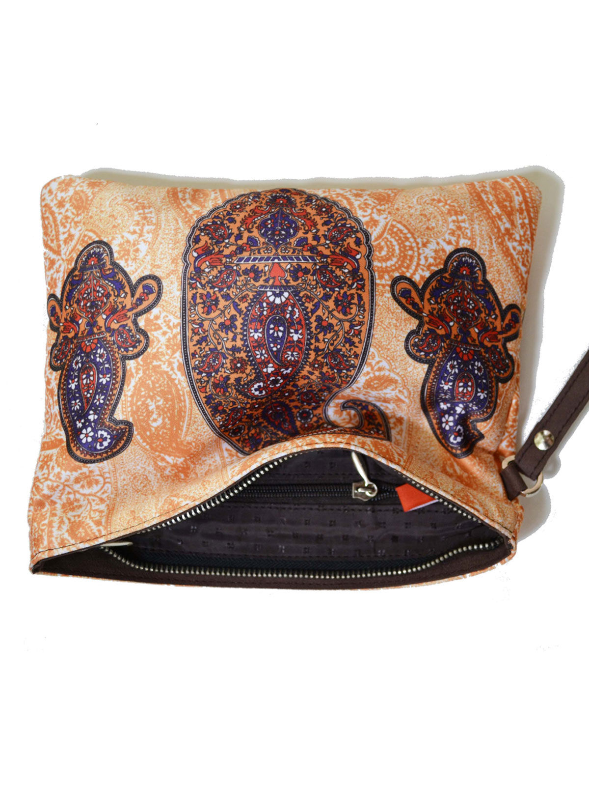Printed Pouch paisley 1