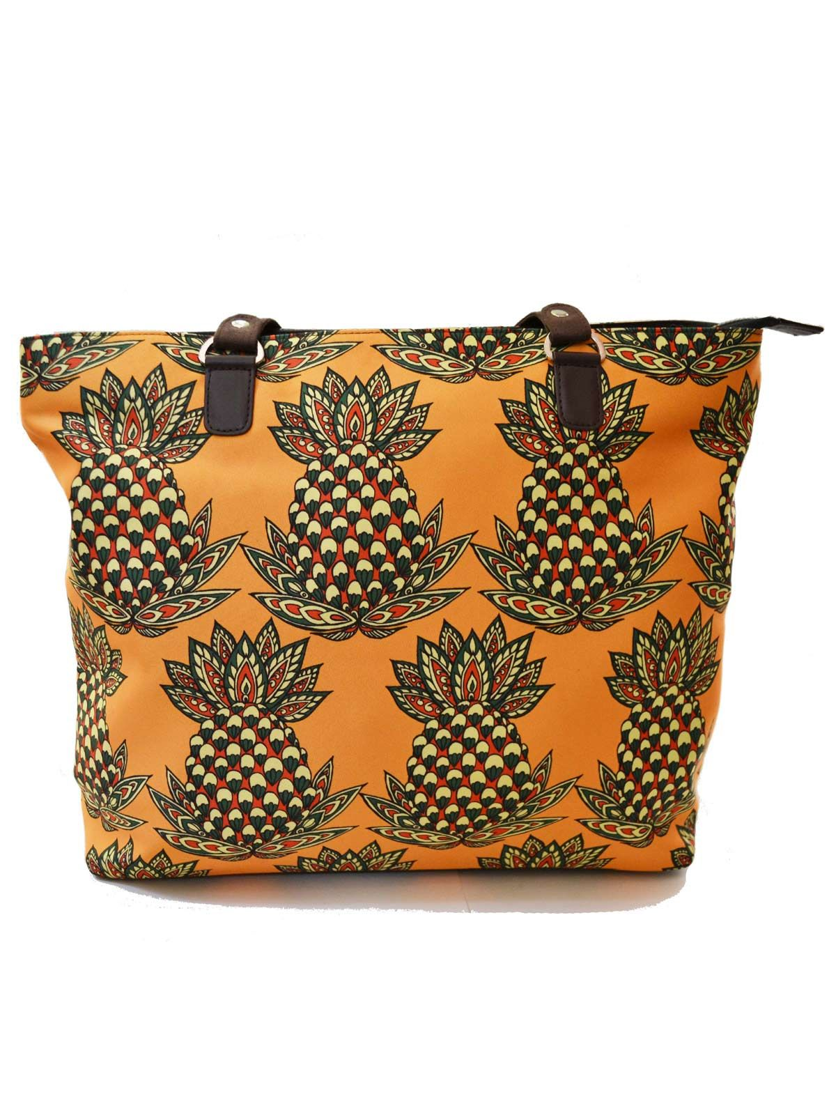 Pineapple Printed Handbag