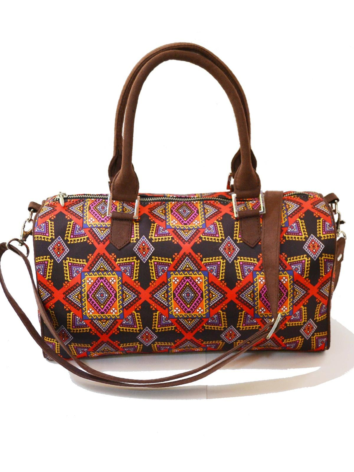 Graphic Printed duffle bag