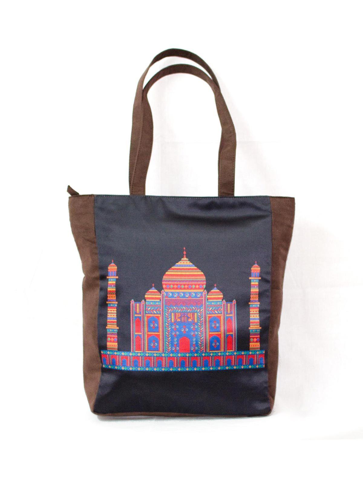 Taj Printed Tote