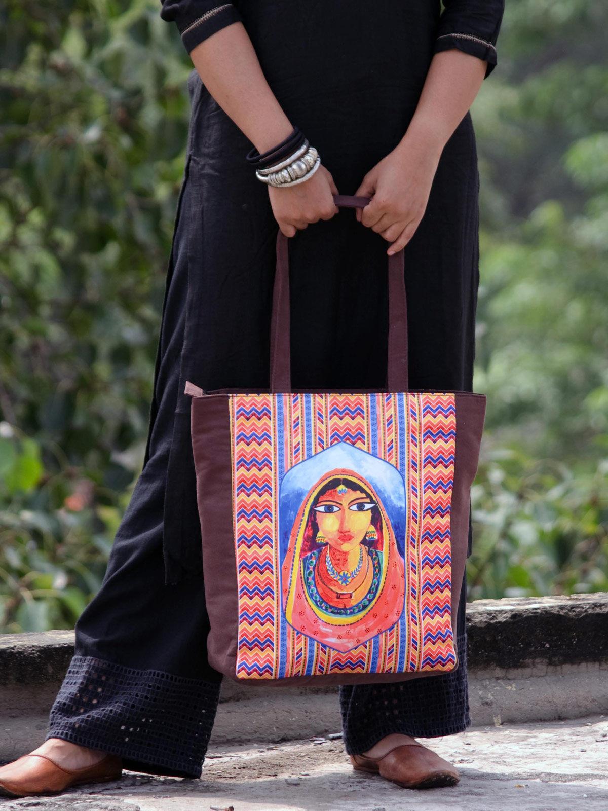 Banjara Printed Tote