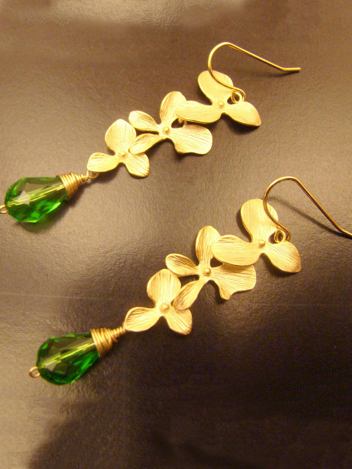 Green with Envy earrings