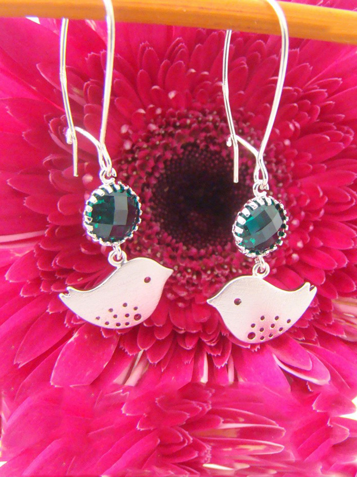 FLY ME HIGH - SPARROW BIRD EARRINGS