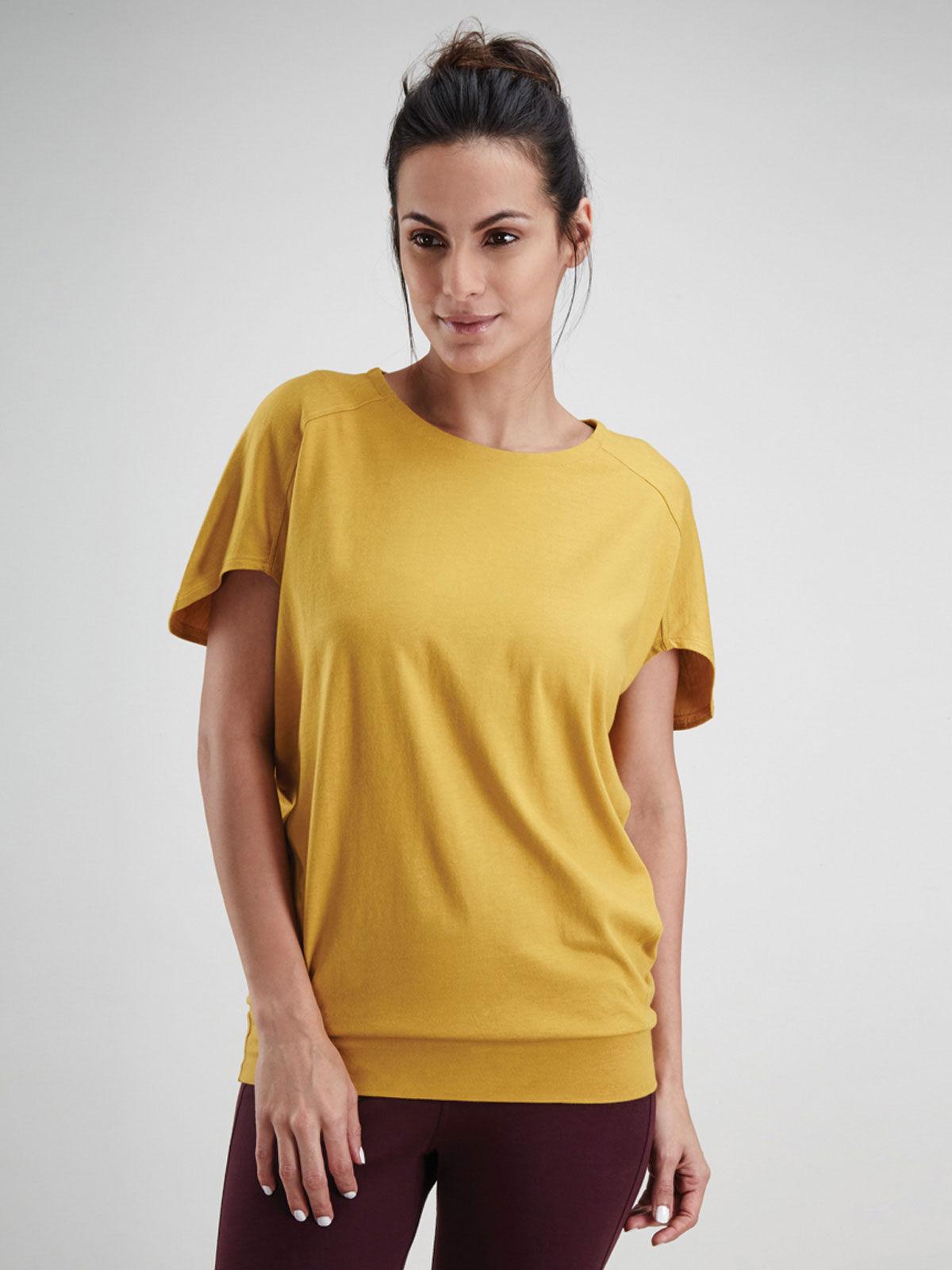 Yellow Blouson Top