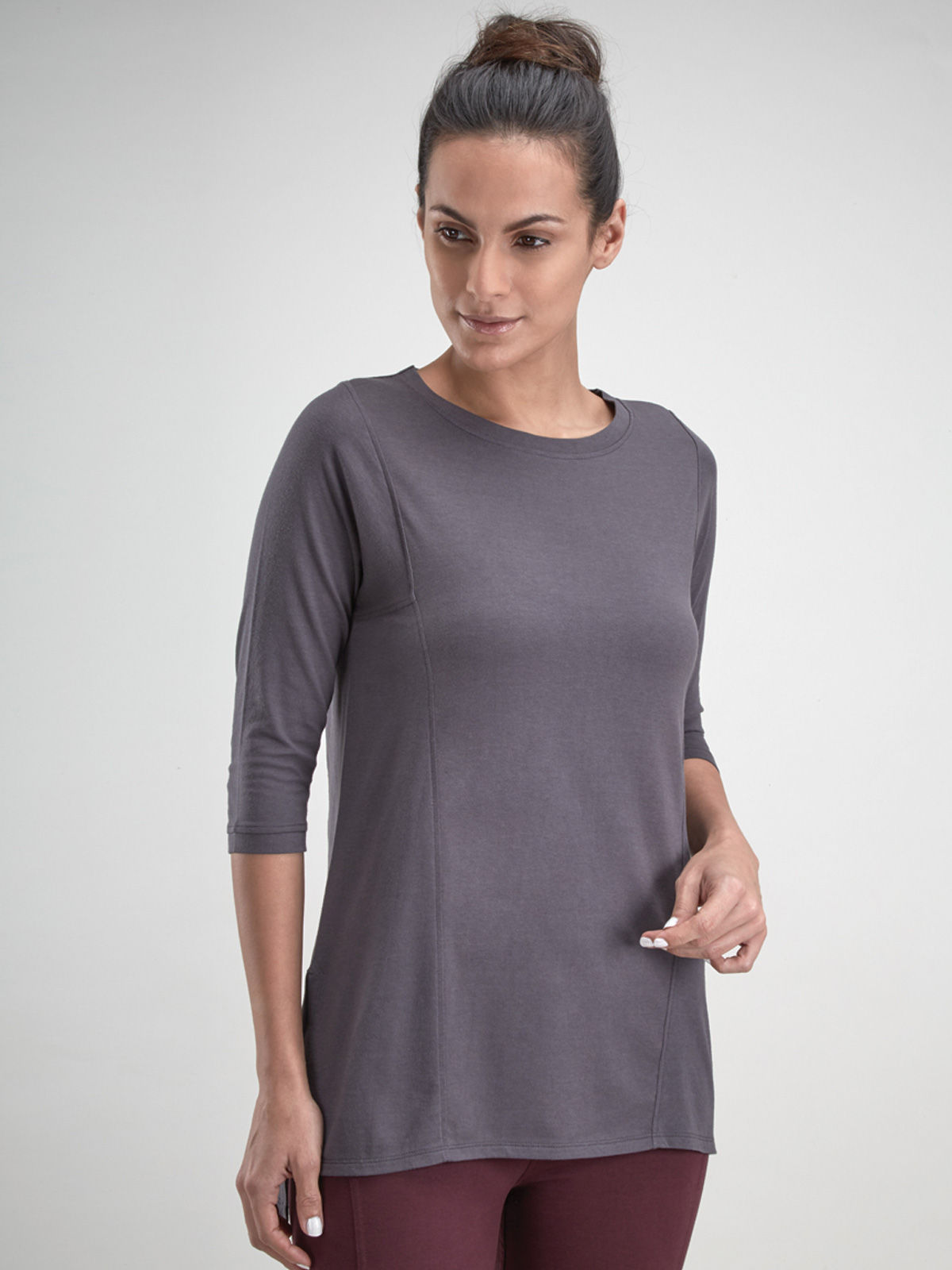 Grey Tunic Top
