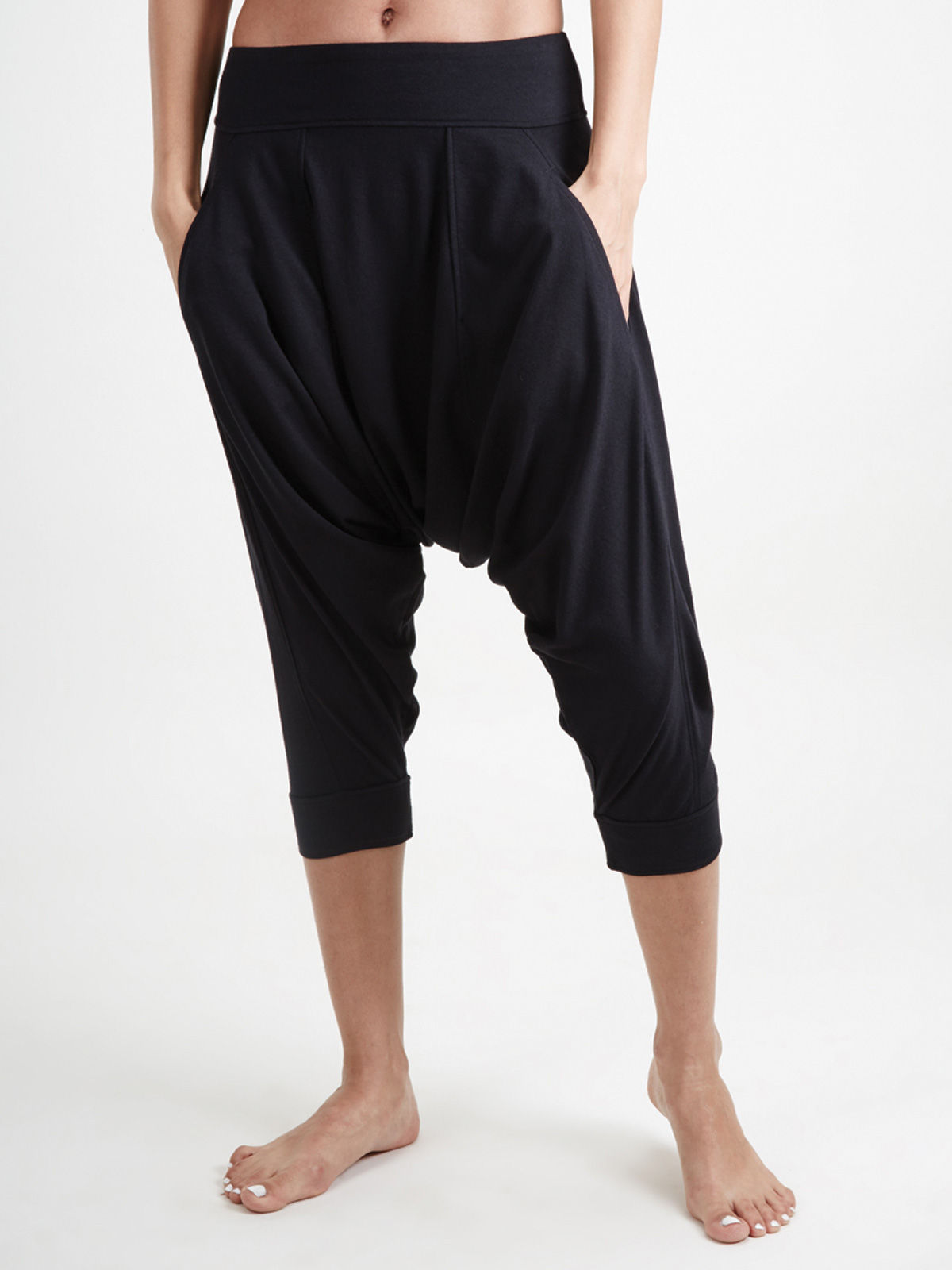 Black Dhoti Pants