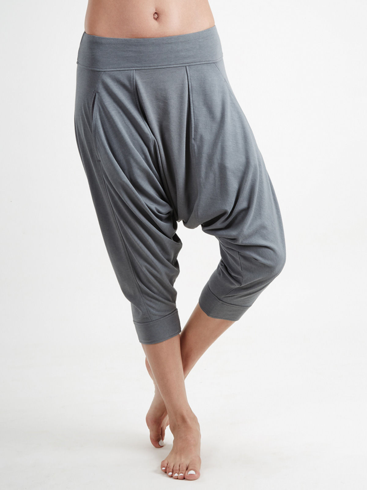 Grey Dhoti Pants