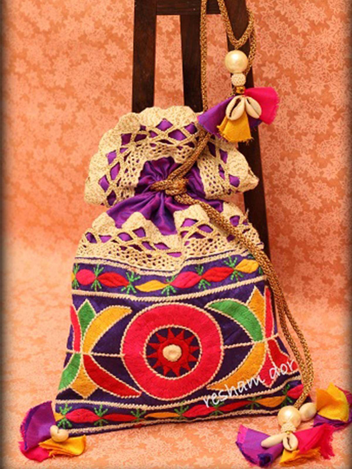 Multicolour Rang Potli