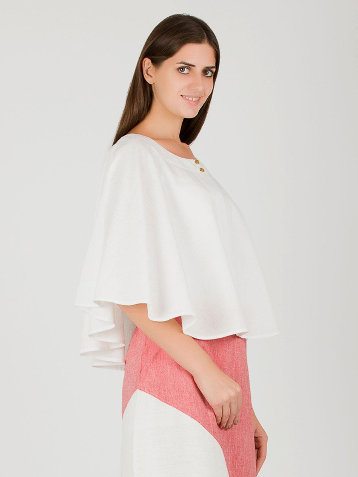 White khadi cape