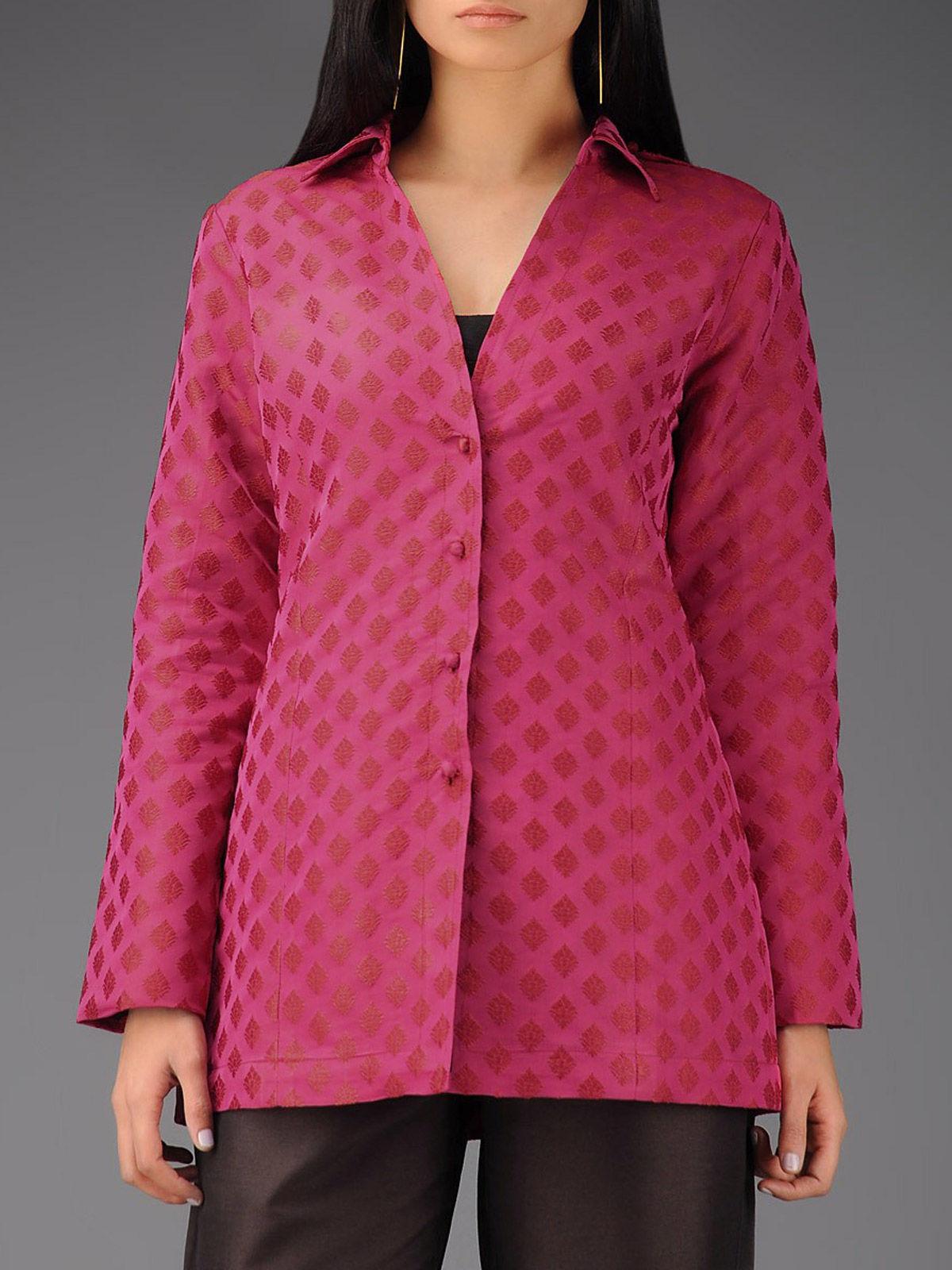Rink silk tanchoi jacket