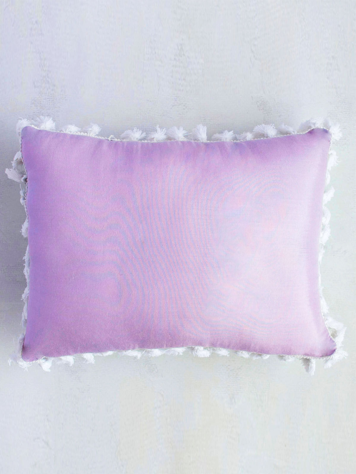 Floral Water Tassel Cushion
