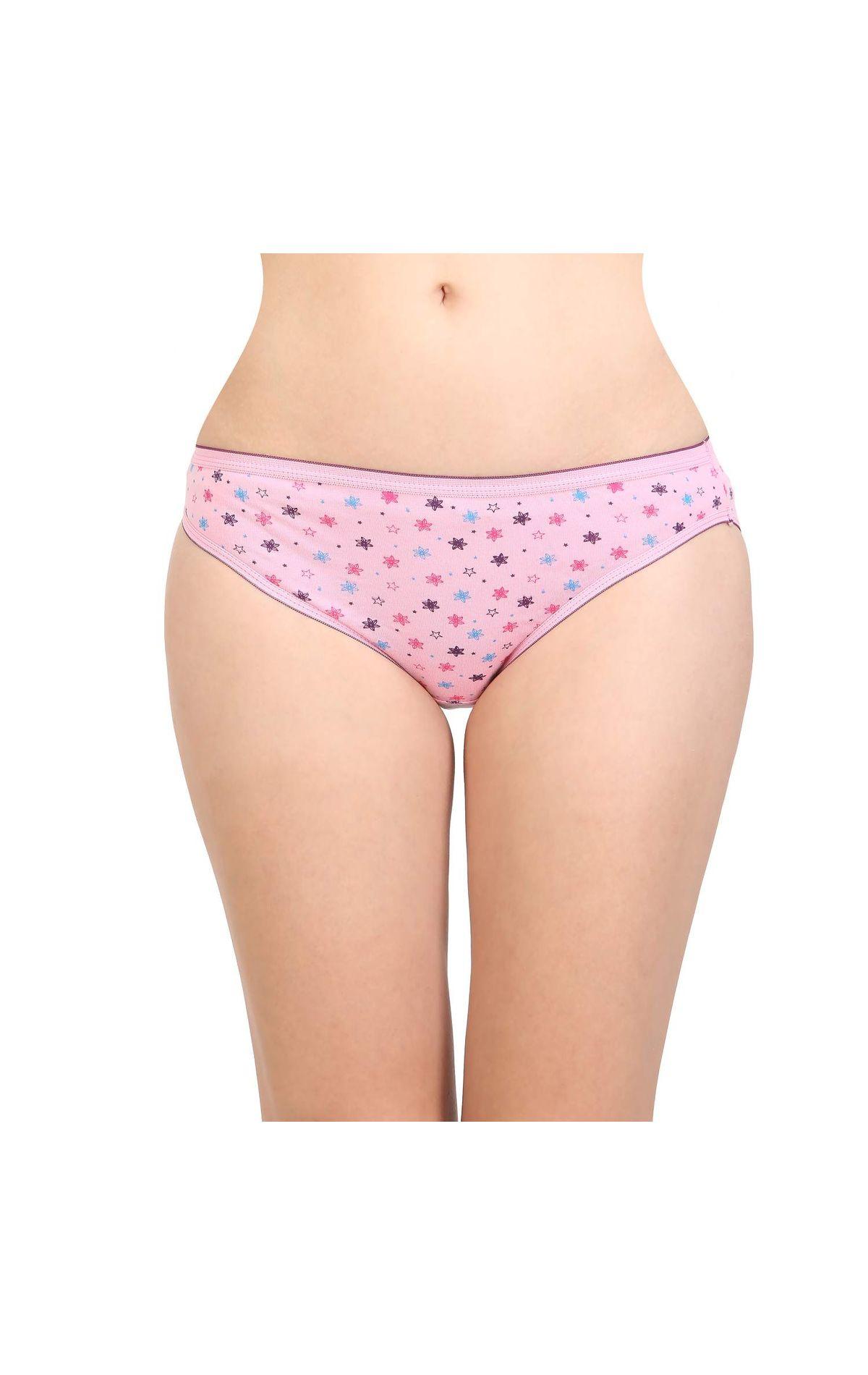 Bodycare 100 Cotton Printed High Cut Panty
