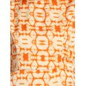 Aujjessa Faun Orange Printed Maxi Dress