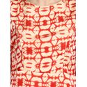 Aujjessa Faun Red Printed Maxi Dress
