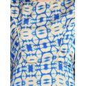 Aujjessa Faun Blue Printed Maxi Dress