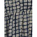 Aujjessa Faun Indigo Cold Shoulder Side Slit Dress