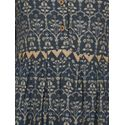 Aujjessa Grey Flared Pleated Dress