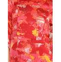 Aujjessa Coral Printed Maxi Dress