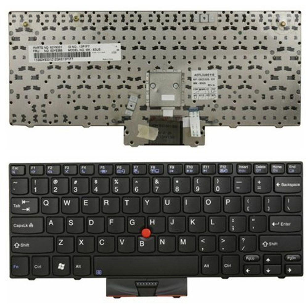 For IBM Lenovo Thinkpad X100E X120E US Keyboard 45N2971 45N2936 60Y9366