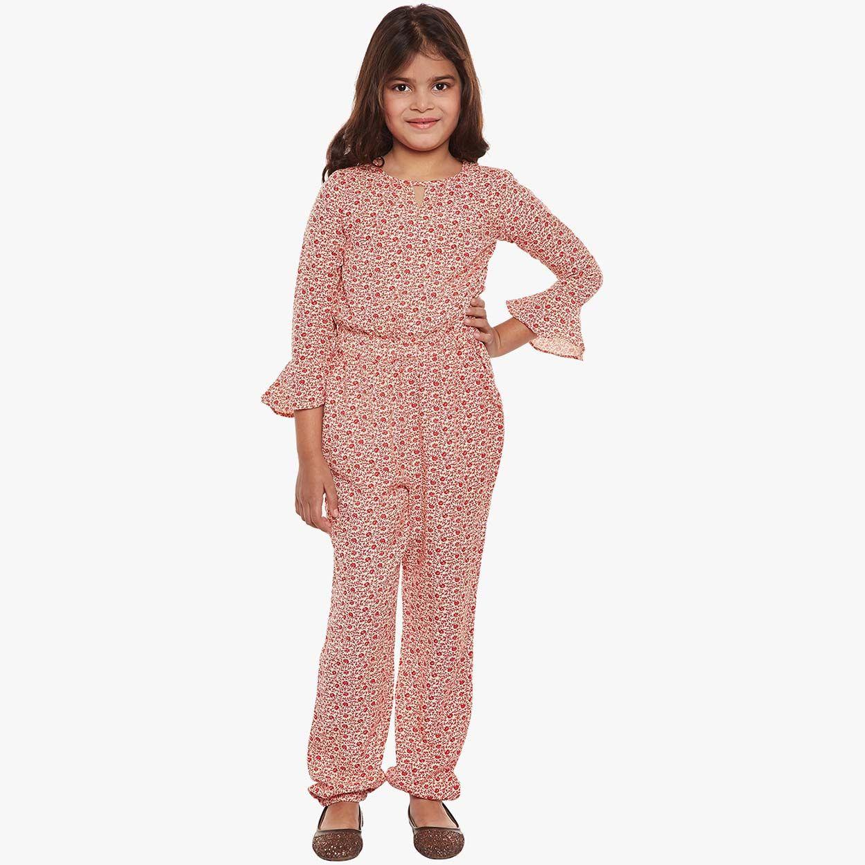 0a04e9e2b9 Buy Oxolloxo Girl Floral Ruffle Playsuit