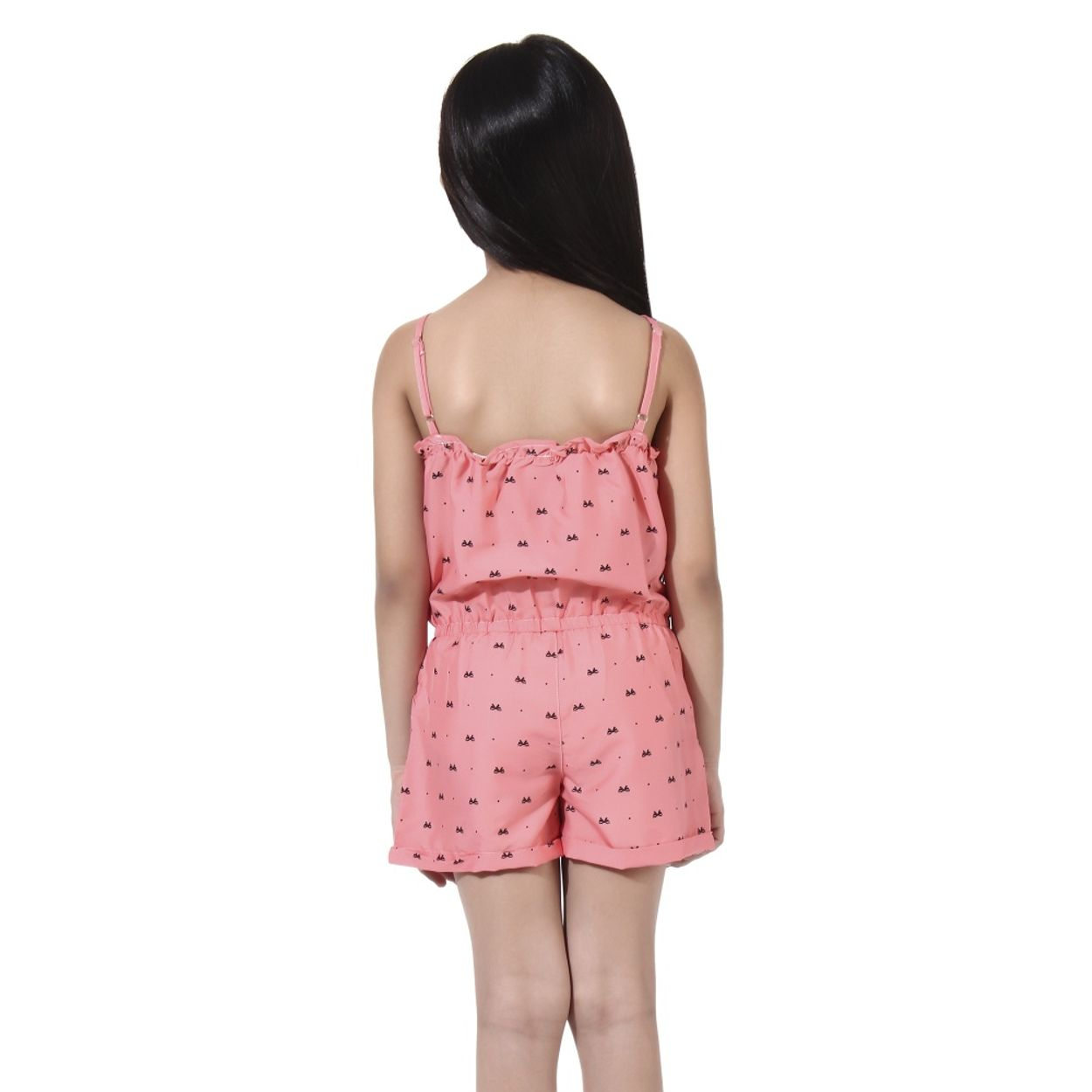 zoom Girls Pink Playsuit. 1  2 c572455aa