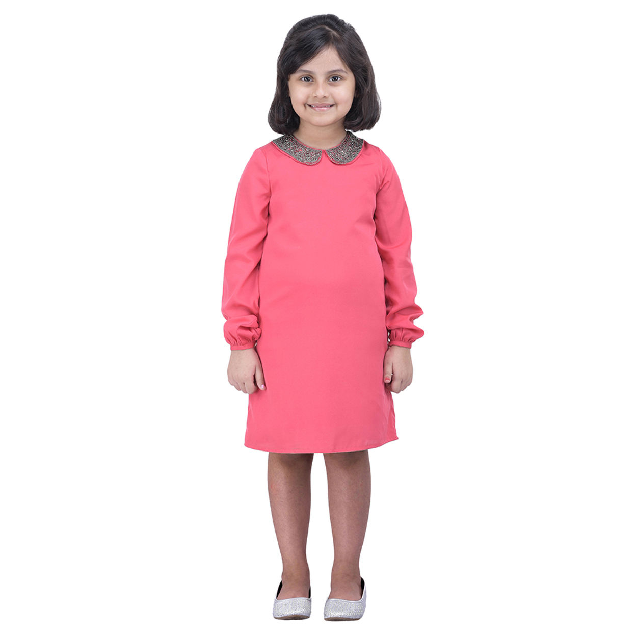 Girls Pink Party Dress | W16125gdr003