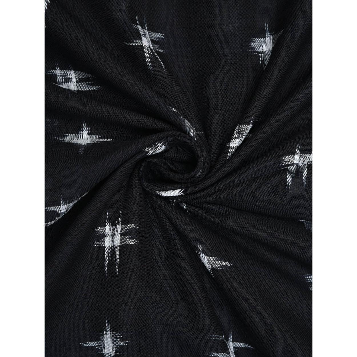 Ikat Cotton Handloom Fabric F0109