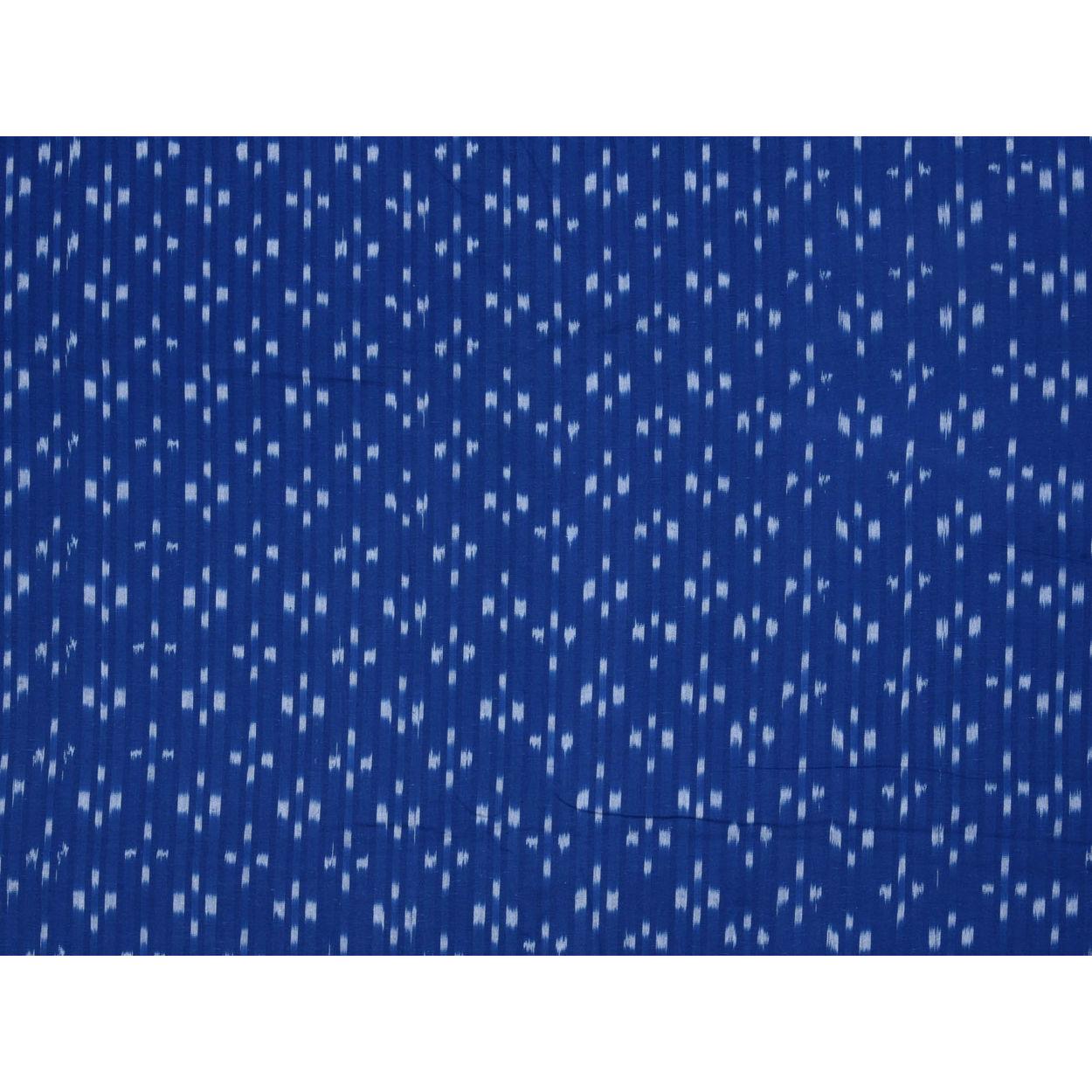 Ikat Cotton Handloom Fabric F0096