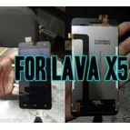 Lava Iris X5 Lcd Touch Folder