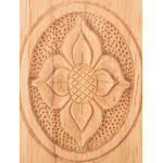Handcrafted Wooden  Pen Holder, With Beautiful Designs
