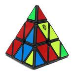 QiYi X-Man Bell Magnetic Pyraminx Black