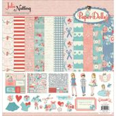 Paper and Sticker Sheets Julie Nutting Belle Vie Photo Play Paper