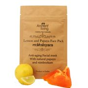 Organic  Lemon & papaya face pack-40gm