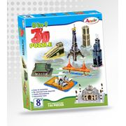 Annie 3 D PUZZLE DO IT YOURSELF 8 IN 1 Monuments Puzzle Game