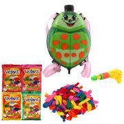 DealBindaas Summer Toy Water Pichkari BACK PACK Tank Squirter ZOO With Gulal Ballloons