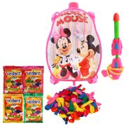 Summer Toy Water Pichkari BACK PACK CARTOON Tank Squirter F4 With Gulal Ballloons