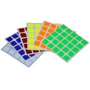 Cubicle 5x5  Half Bright Sticker Set 64mm - Florian