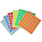 Cubicle 7x7 Full Bright Sticker Set 71mm - AoFu GT