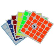 Cubesmith 5x5 Half-Bright Sticker Set - Florian