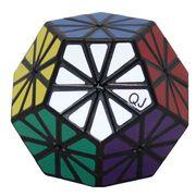 QJ Pyraminx Crystal Black