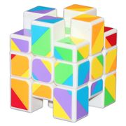 YJ Inequilateral Cube White