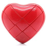 YJ Love Heart Cube Red